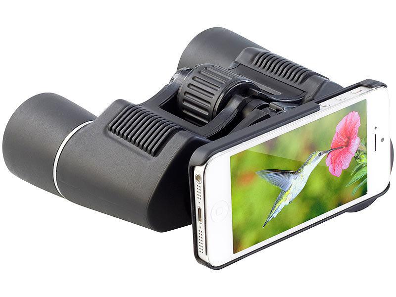 Iphone Entfernungsmesser Bedienungsanleitung : Zavarius fernglas fg 360.b 8 x 36 mit iphone 5 halterung inkl. tasche
